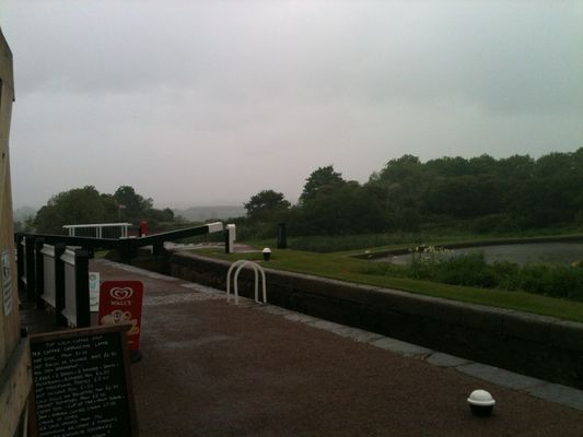 view over lock
