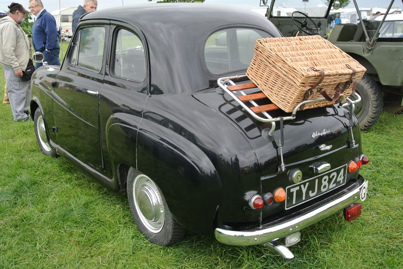 The austin on show