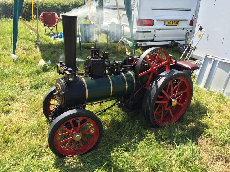 Small Traction engine
