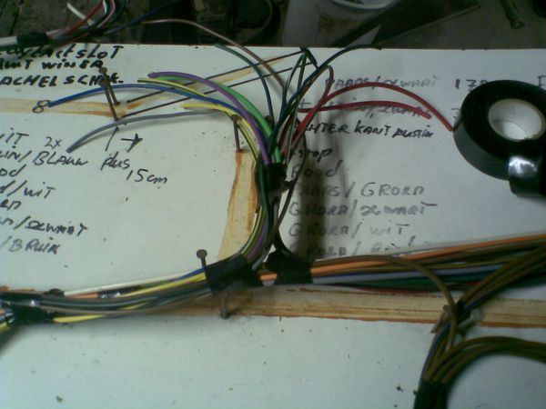 New wiring loom